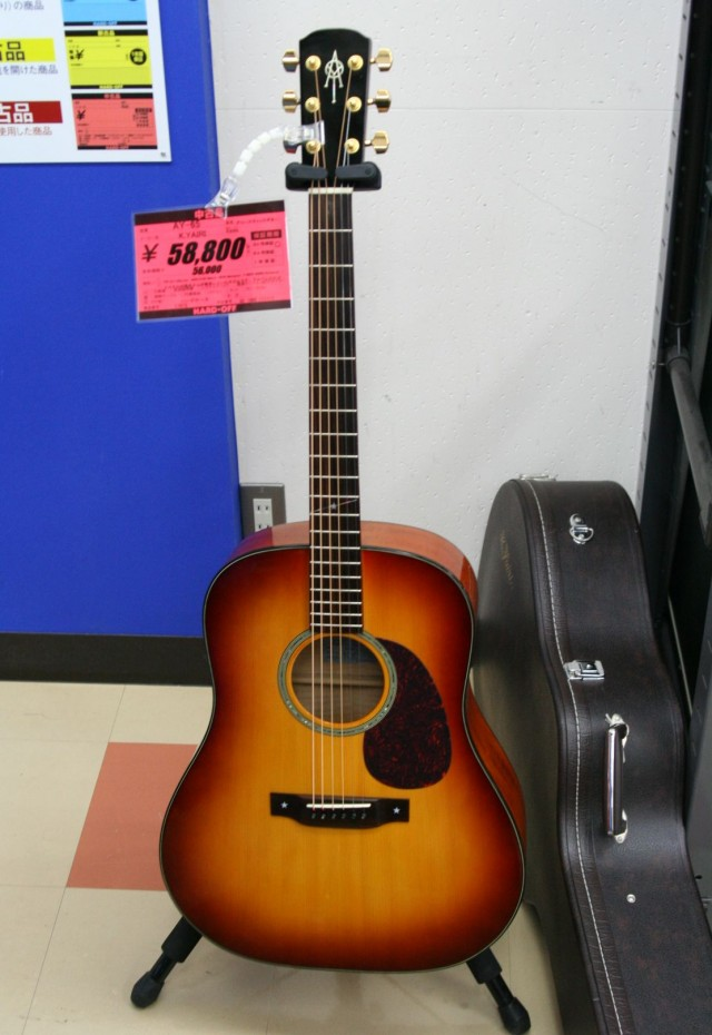 K Yairi ギター(AY-65)