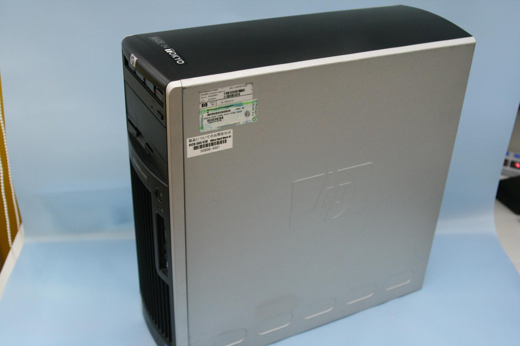 hp デスクトップPC(XW6200)