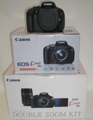 Canon デジタル一眼カメラ EOS Kiss X5 Wズームキット