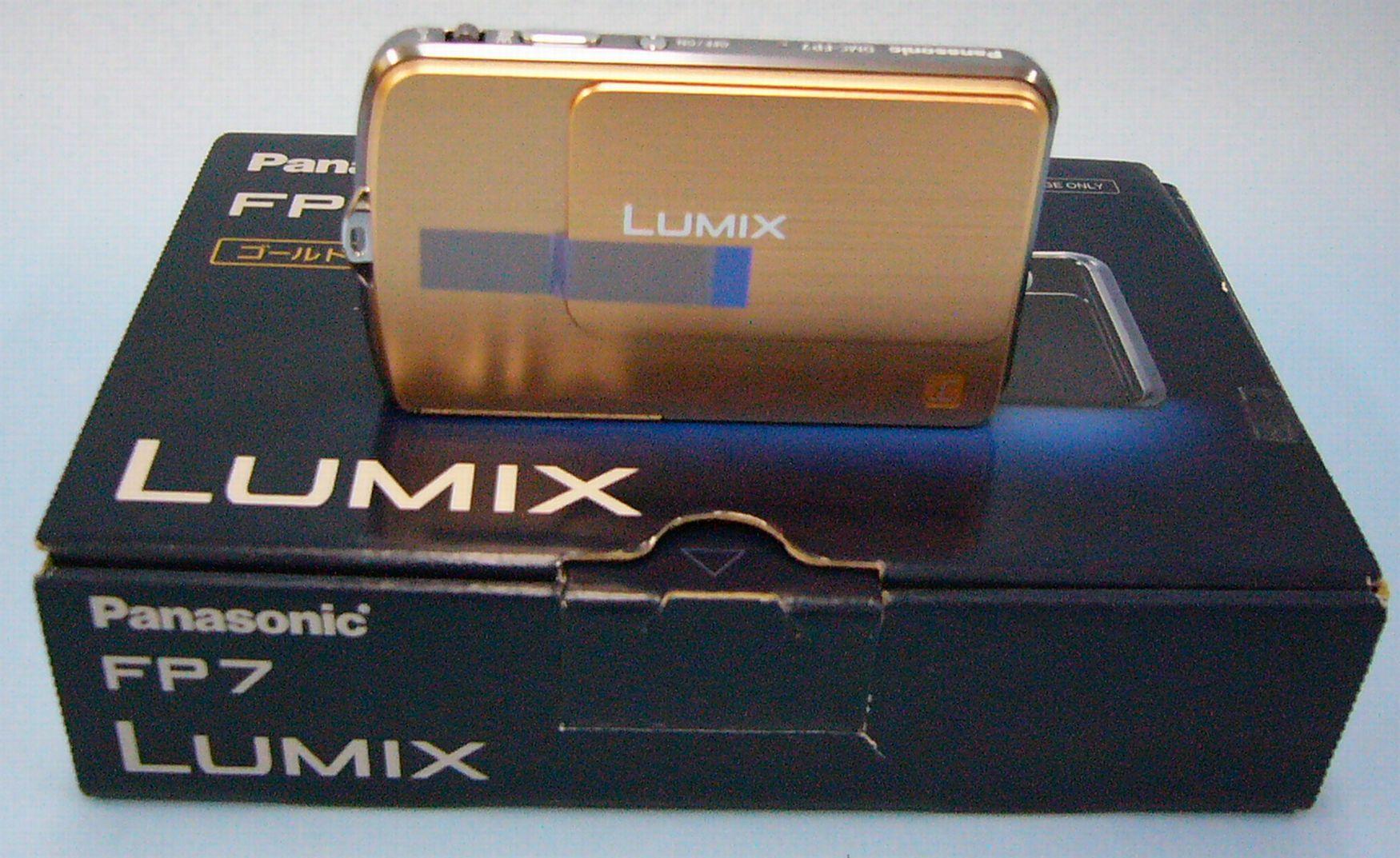 Panasonic デジタルカメラ LUMIX(DMC-FP7)