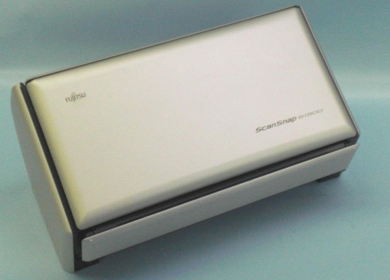 富士通 スキャナー(ScanSnap S1500)