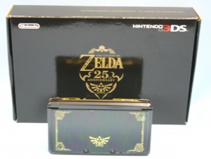 ニンテンドー3DS ZELDA25thANNIVERSARY LIMITEDEDITION(CTR-001)