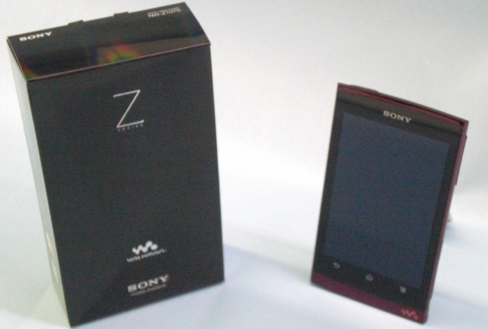 SONY ポータブルオーディオプレーヤー(NV-Z1070)