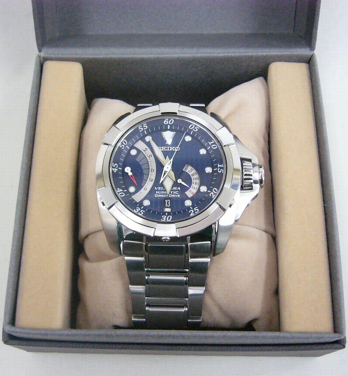 SEIKO 腕時計 VELATURA (SRH001P1)