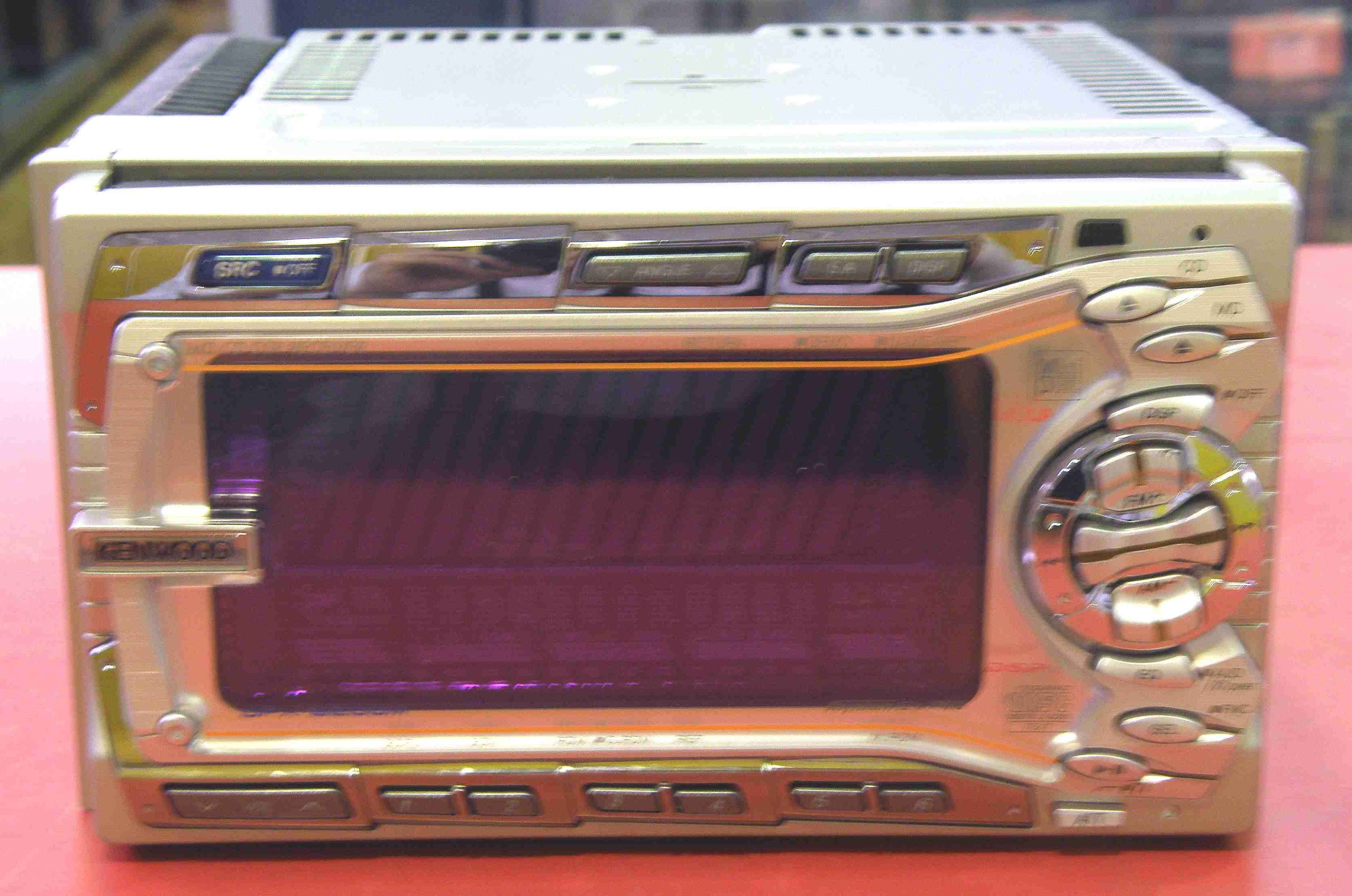 KENWOOD カーオーディオ CD/MD DPX-6200M