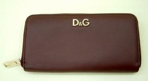 D&G ファスナー財布