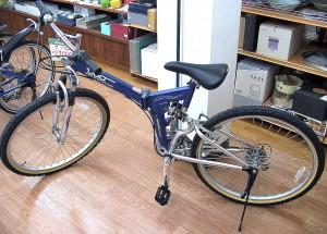 UGO 折りたたみ自転車 片山右京モデル