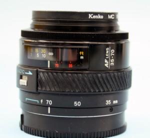 MINOLTA 35-70mm ZOOMレンズ