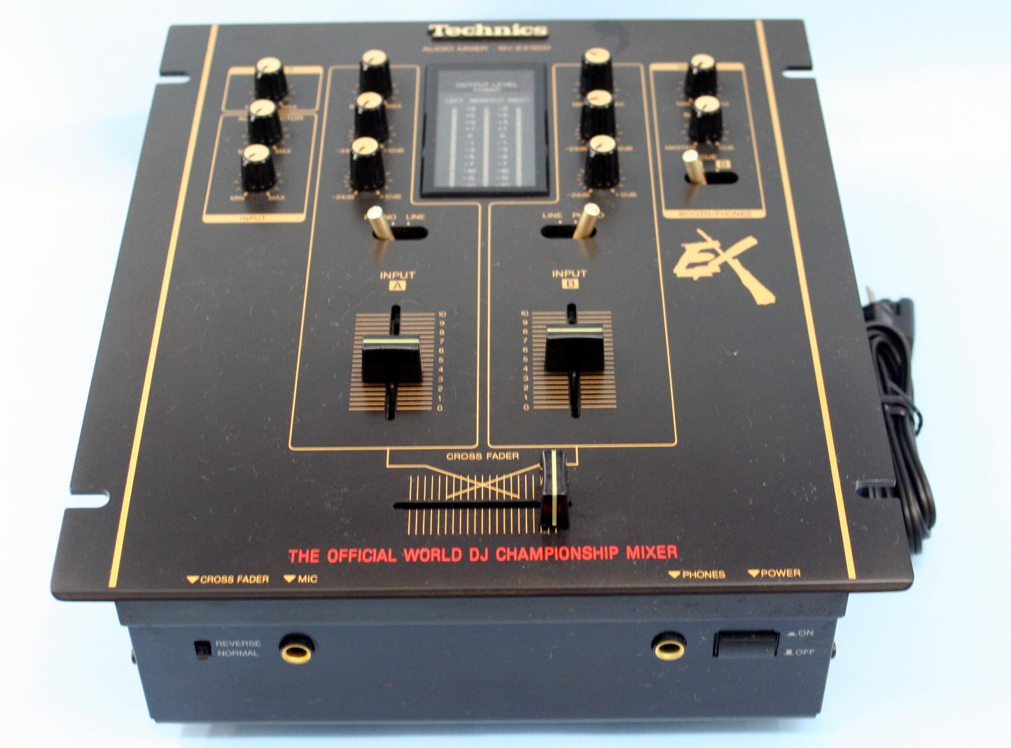 Technics DJミキサー SH-EX1200