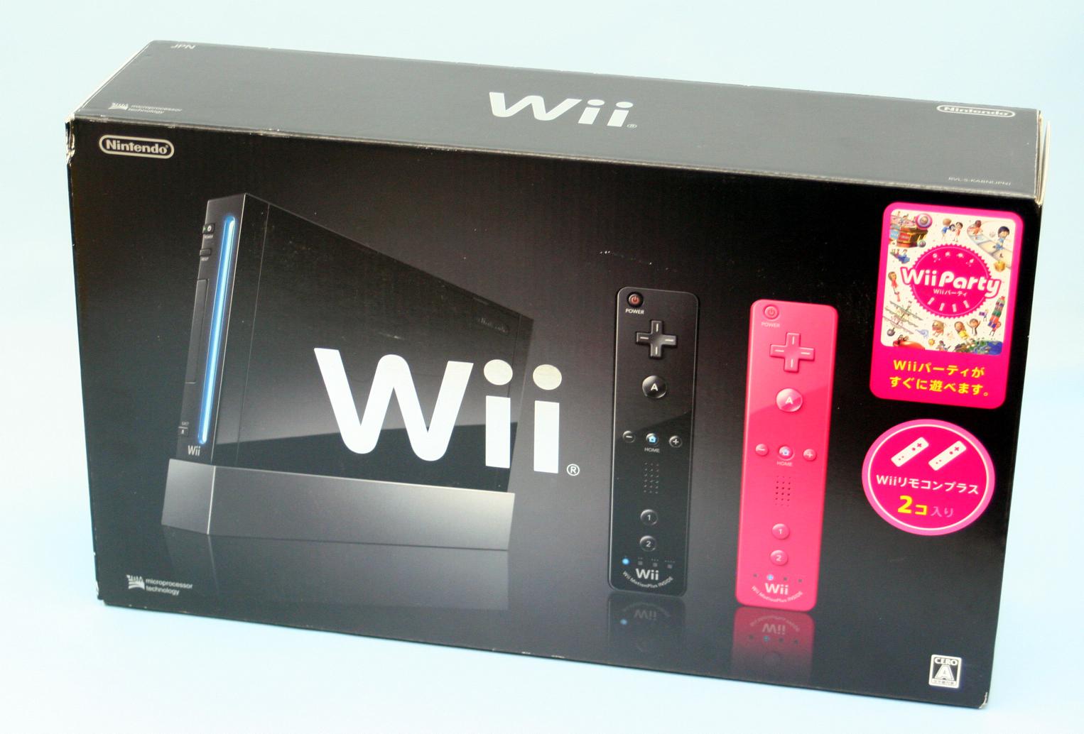 Nintendo Wii Wiiパーティー同梱版