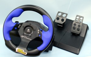 PS2 Logicool レーシングコントローラー GT-FORCE