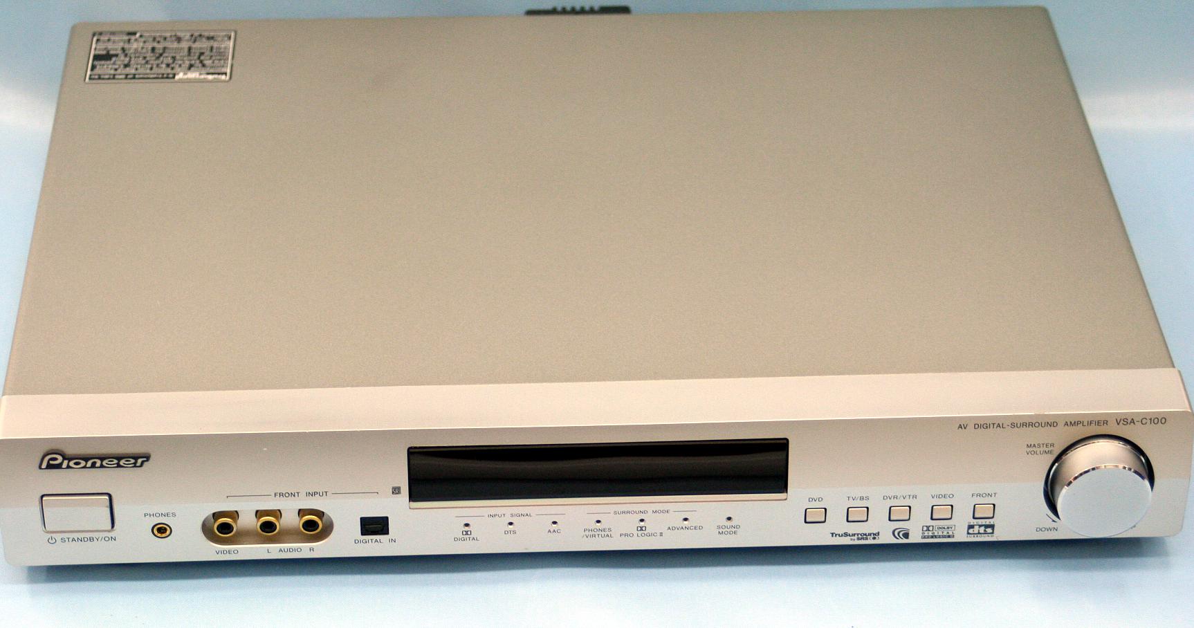 Pioneer AVアンプ VSA-C100