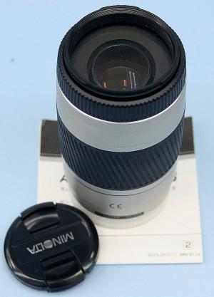 MINOLTA レンズ 75-300mm 4.5-5.6