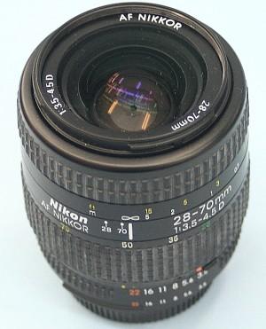 Nikon レンズ 28-70mm 3.5-4.5D