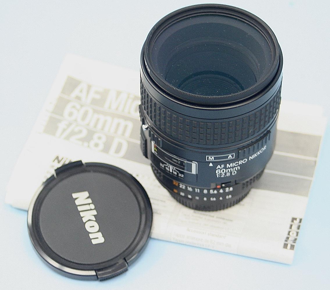 Nikon レンズ 60mm 2.8D