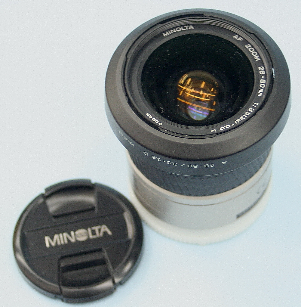 MINOLTA レンズ 28-80mm 3.5-5.6