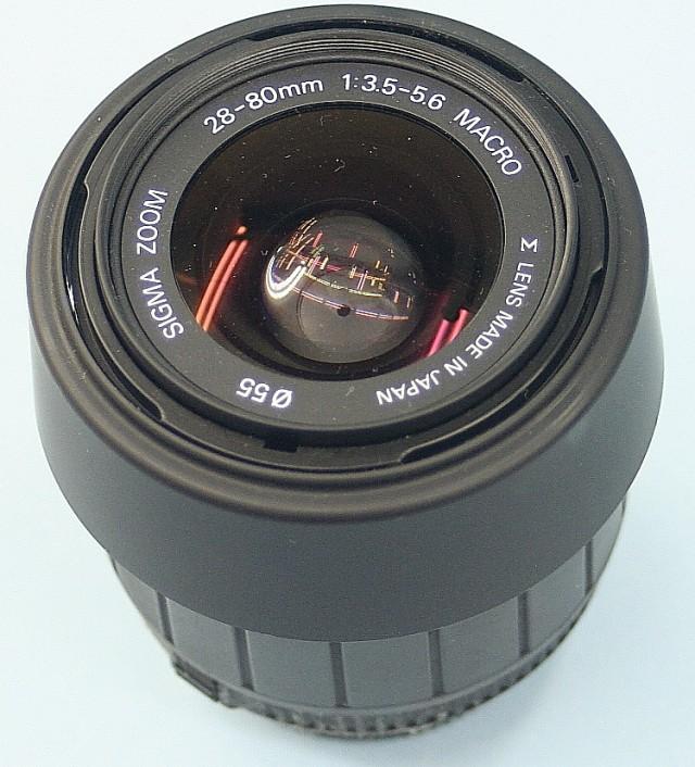 SIGMA 28-80mm 3.5-5.6 ニコン用レンズ