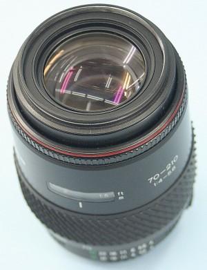 TOKINA 70-210mm 4-5.6 ニコン用レンズ