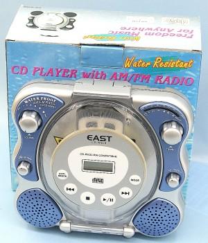 EAST 防水CDプレーヤー CD-W208