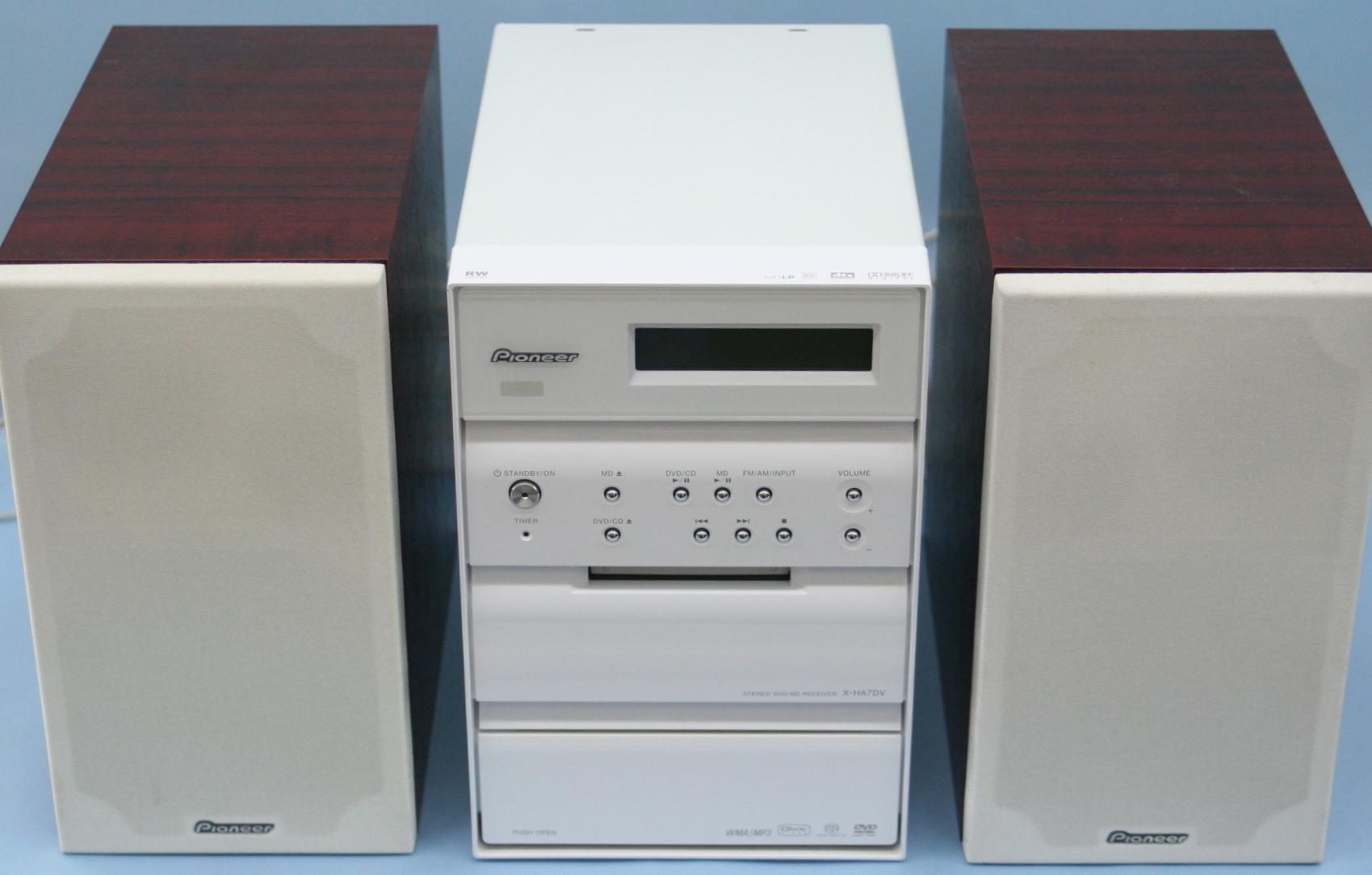 Pioneer DVDミニコンポ XV-HA7DV