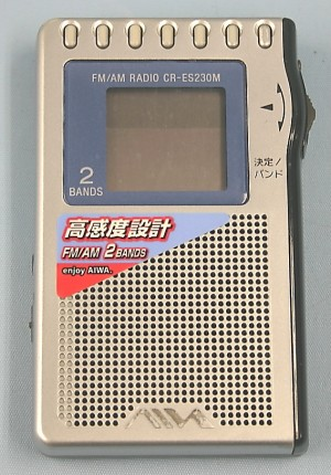 AIWA 携帯ラジオ CR-ES230M