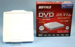 BUFFALO 外付けDVDドライブ DVSMPC58U