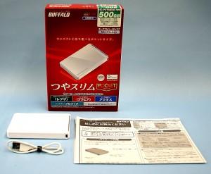 BUFFALO 外付けHDD HD-PCT500U2