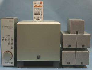 YAMAHA 5.1chホームシアターシステム TSS-15