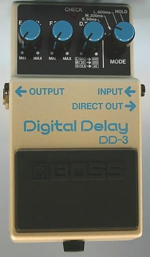 BOSS エフェクター DD-3