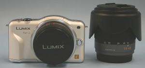 Panasonic デジタルカメラ LUMIX DMC-GF3W