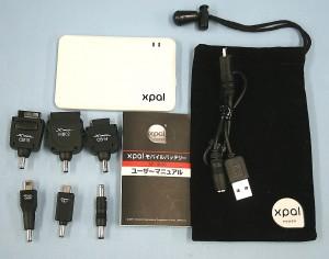 xpal モバイルチャージャー XP-1000