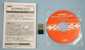 Logitec Bluetooth 2.1+EDR対応 USBアダプタ