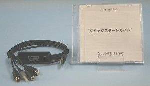 CREATIVE オーディオキャプチャ SB1260