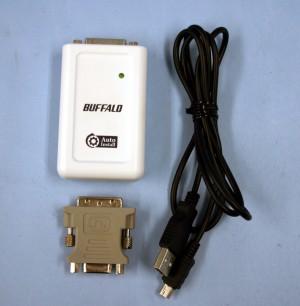 BUFFALO USBマルチディスプレイアダプタ GX-DVI/U2AI