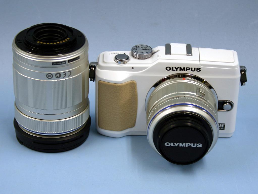 OLYMPUS デジタル一眼カメラ Lite E-PL2 ダブルズームキット