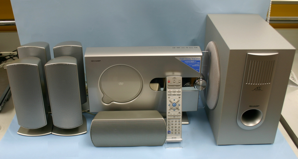 SHARP DVDホームシアターシステム