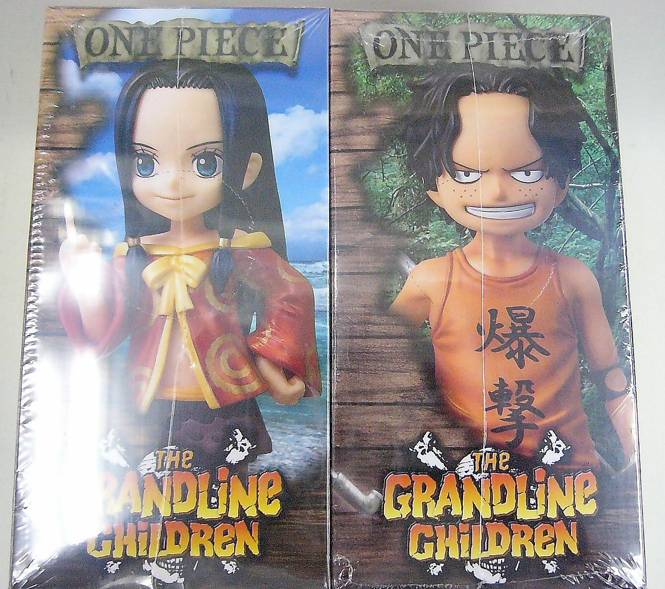 ONE PIECE フィギュア ハンコック&エース 2種セット