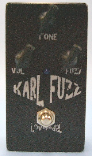 Love pedal エフェクター KARL FAZZ