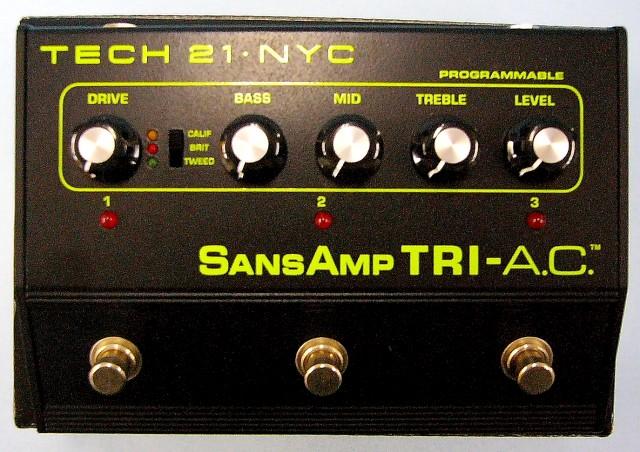 TECH21 エフェクター SANSAMP TRI-A.C