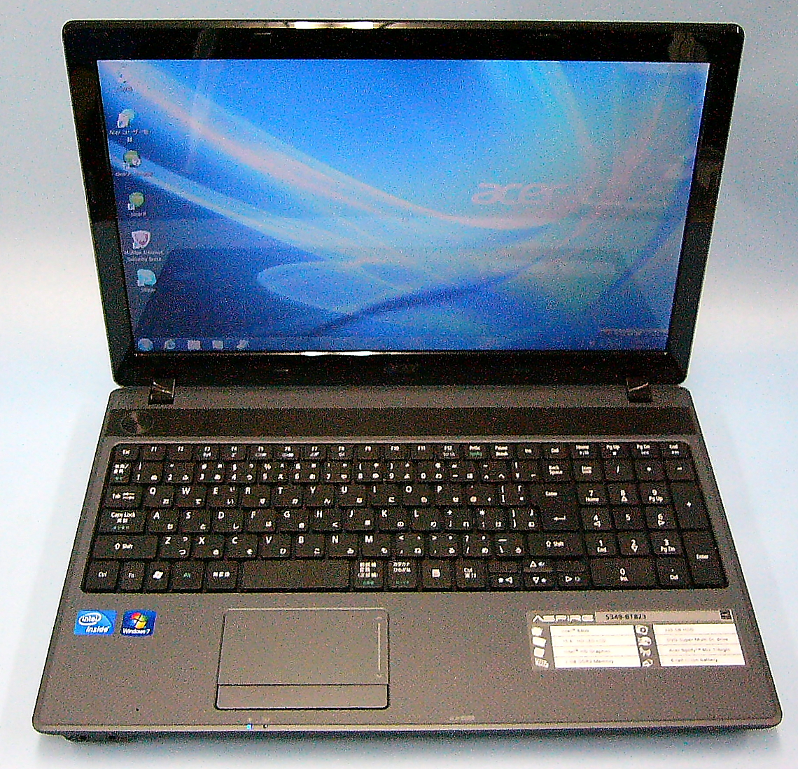 acer ノートパソコン Aspire 5349-BT823