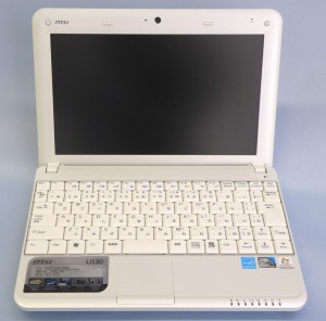MSI モバイルPC U130-839JP