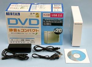 I・O DATA DVDドライブ DVR-UN20E