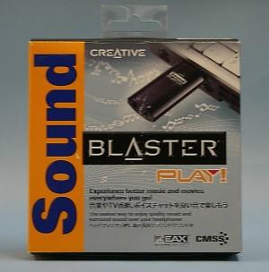 CREATIVE USBサウンドカード SB-PLAY