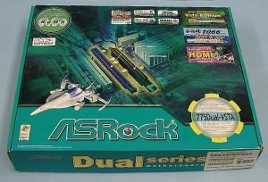 ASRock マザーボード 775Dual-VSTA
