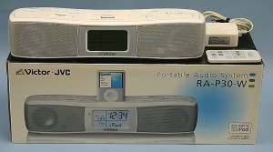 JVC オーディオシステム RA-P30-W