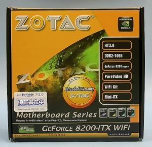 ZOTAC マザーボード GeForce8200-ITX WiFi
