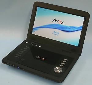 AVOX ポータブルBDプレーヤー APBD-1010HW