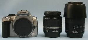 Canon デジタル一眼カメラ EOS Kiss Digital Nダブルズームキット