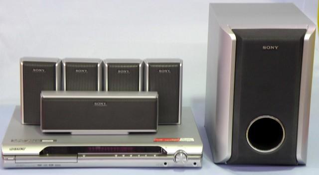 SONY DVDホームシアターシステム