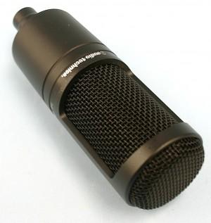 audio-technica コンデンサーマイク AT2020
